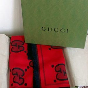 Gucci GG logo Scarf Authentic - NEW